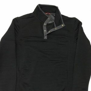 Gerry Mens Ottoman 1/4 Snap Front Pullover Sweater